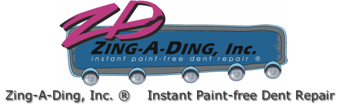 Zing-A-Ding, Inc. Instant Paint-Free Dent Repair